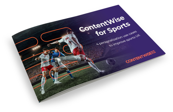 ContentWise for Sports brochure