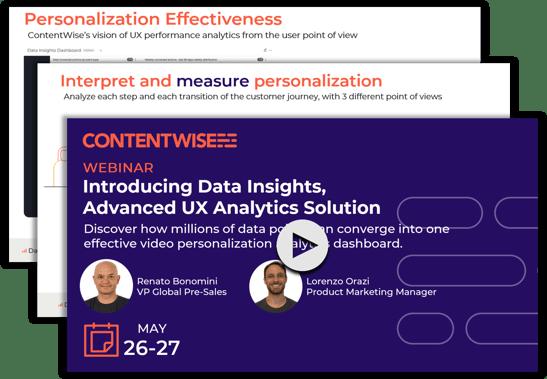 Video Webinar Recording Data Insights ContentWise